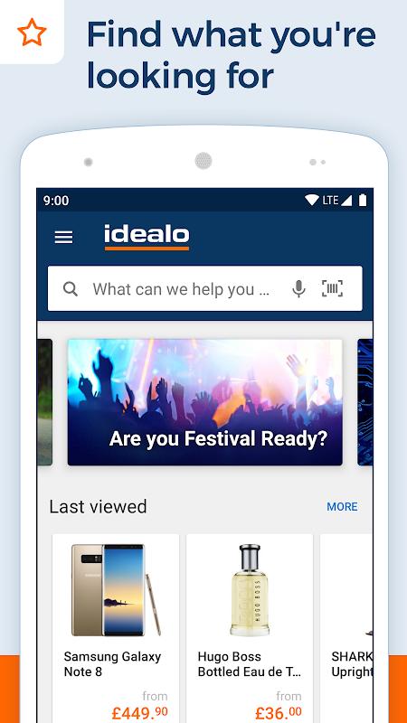 idealo - Price Comparison & Mobile Shopping App 10.3.7 Screen 1