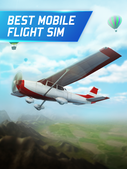 Flight Pilot Simulator 3D Free 1.4.8 Screen 2