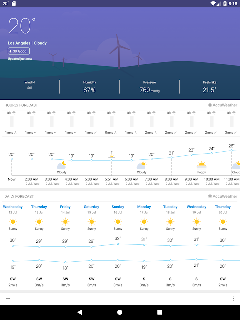 Weather Mate (Weather M8) 1.3.9 Screen 10