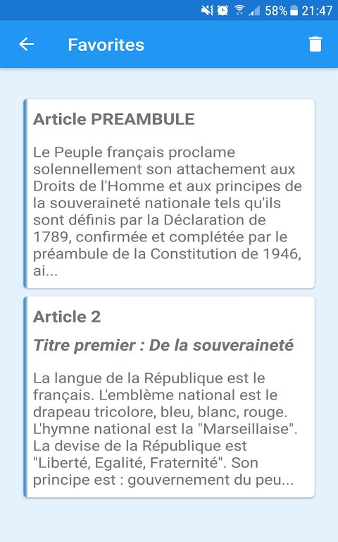French Constitution 1.0 Screen 23