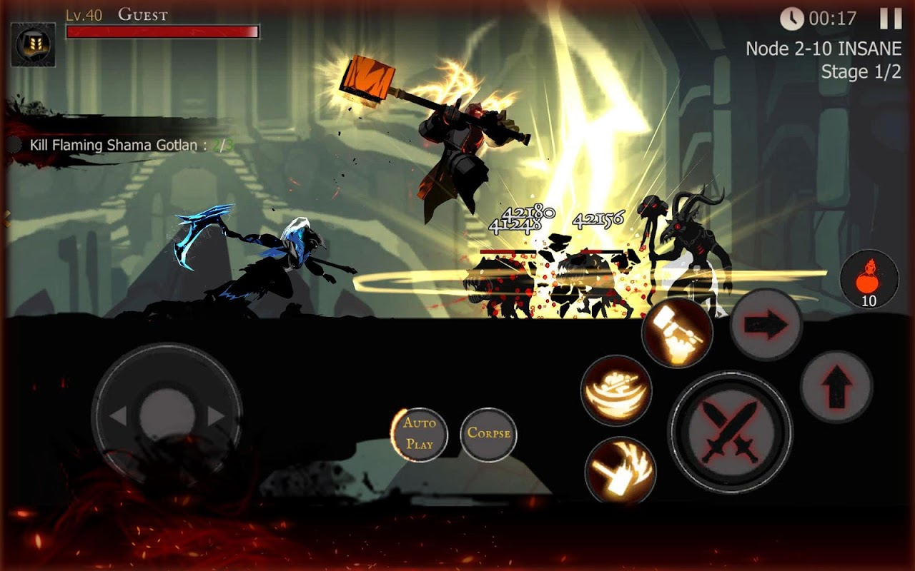 Shadow of Death: Dark Knight - Stickman Fighting 1.42.0.3 Screen 9