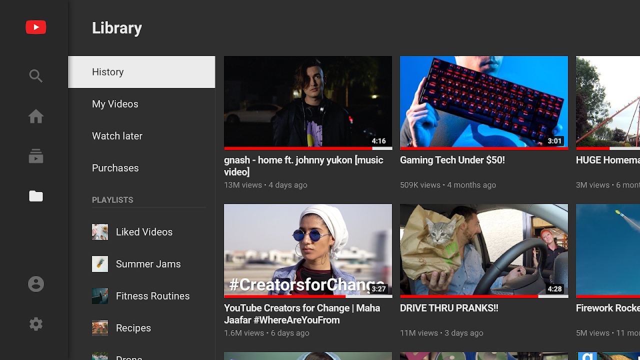 Youtube 2.04.05 Screen 2
