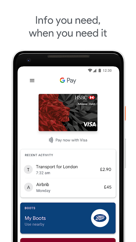 Android Android Pay Screen 4