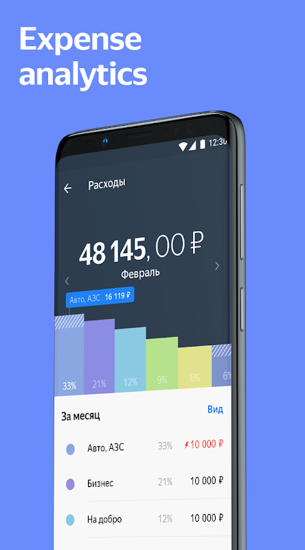 Yandex.Money—wallet, cards, transfers, and fines 5.6.2 Screen 6