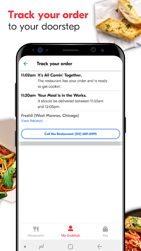 Grubhub: Local Food Delivery 7.17 Screen 4