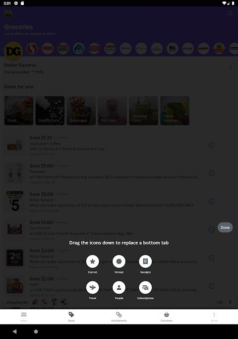 Yahoo Mail - Stay Organised 6.0.12 Screen 3
