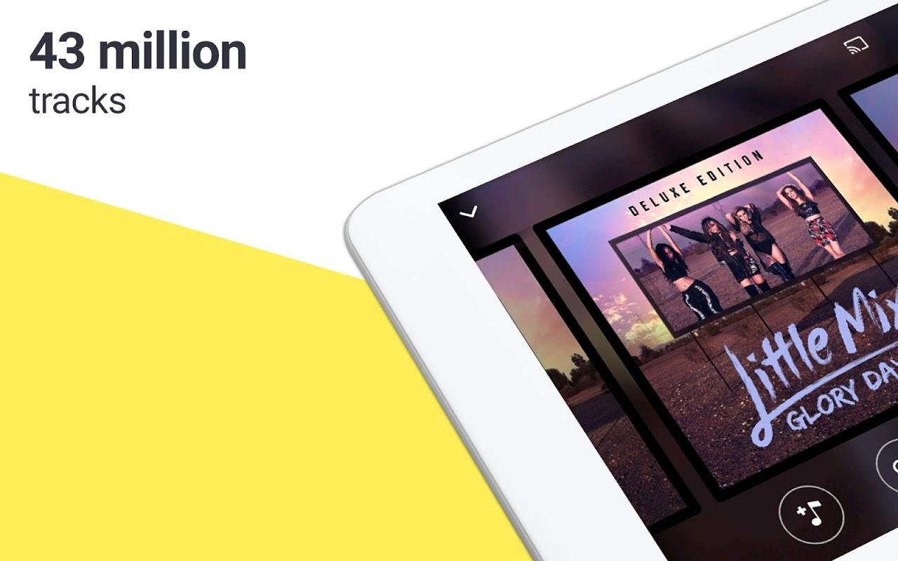 Deezer: Stream Music, Playlists, Albums & Songs 6.0.3.3 Screen 1