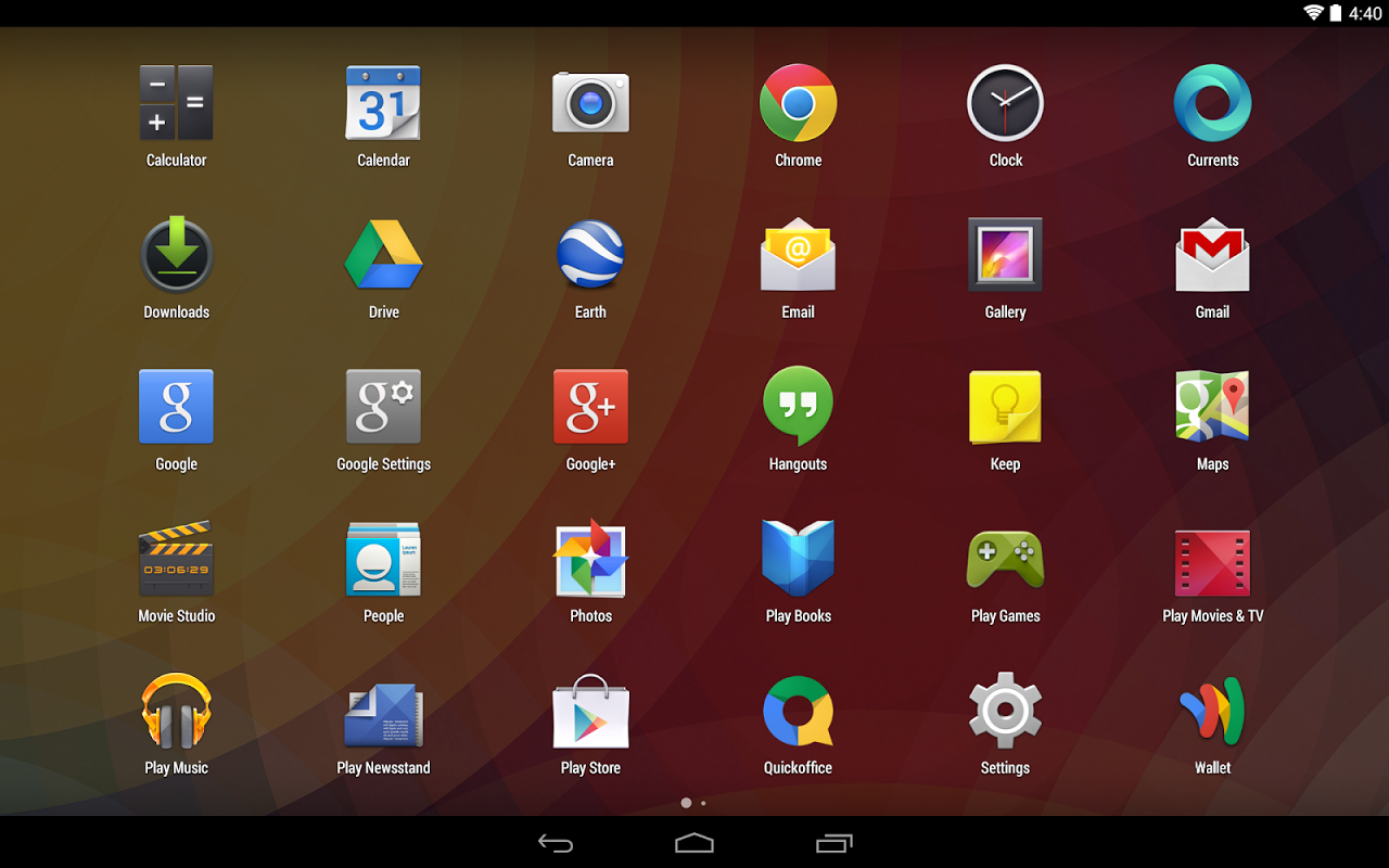 Google Now Launcher 1.4.large Screen 2