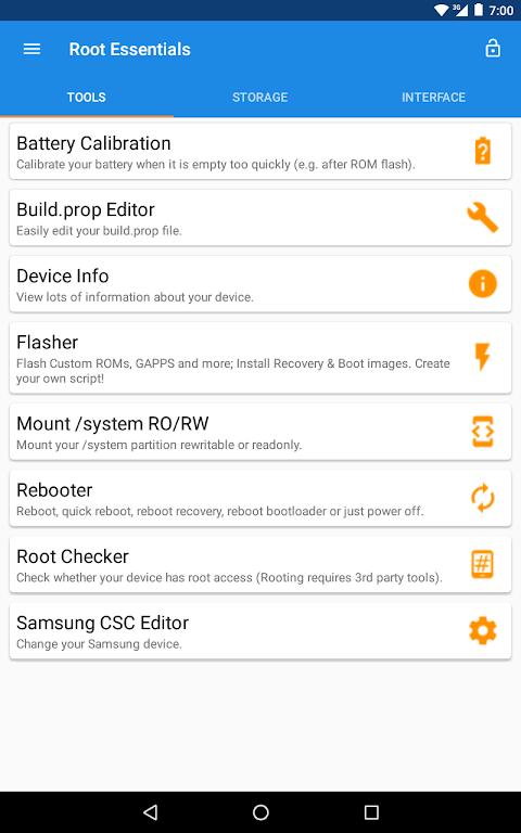 Root Essentials 2.4.9 Screen 25