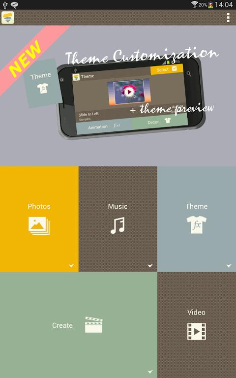 Android SlideFX Video Creator Screen 12