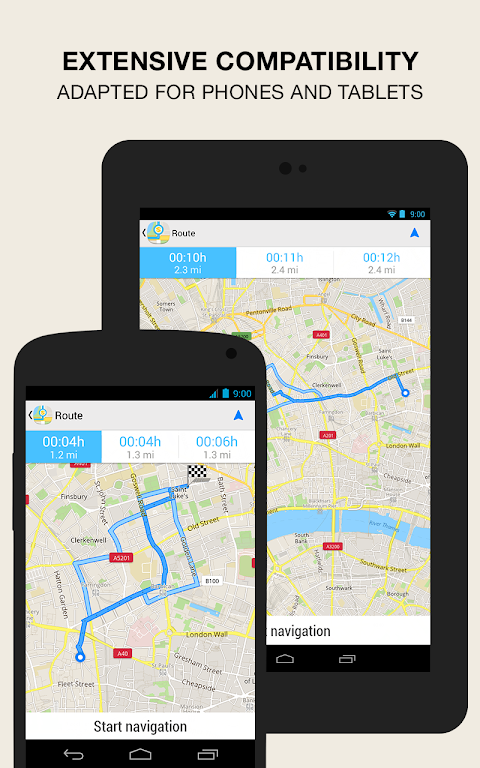 Android GPS Navigation & Maps - Scout Screen 15