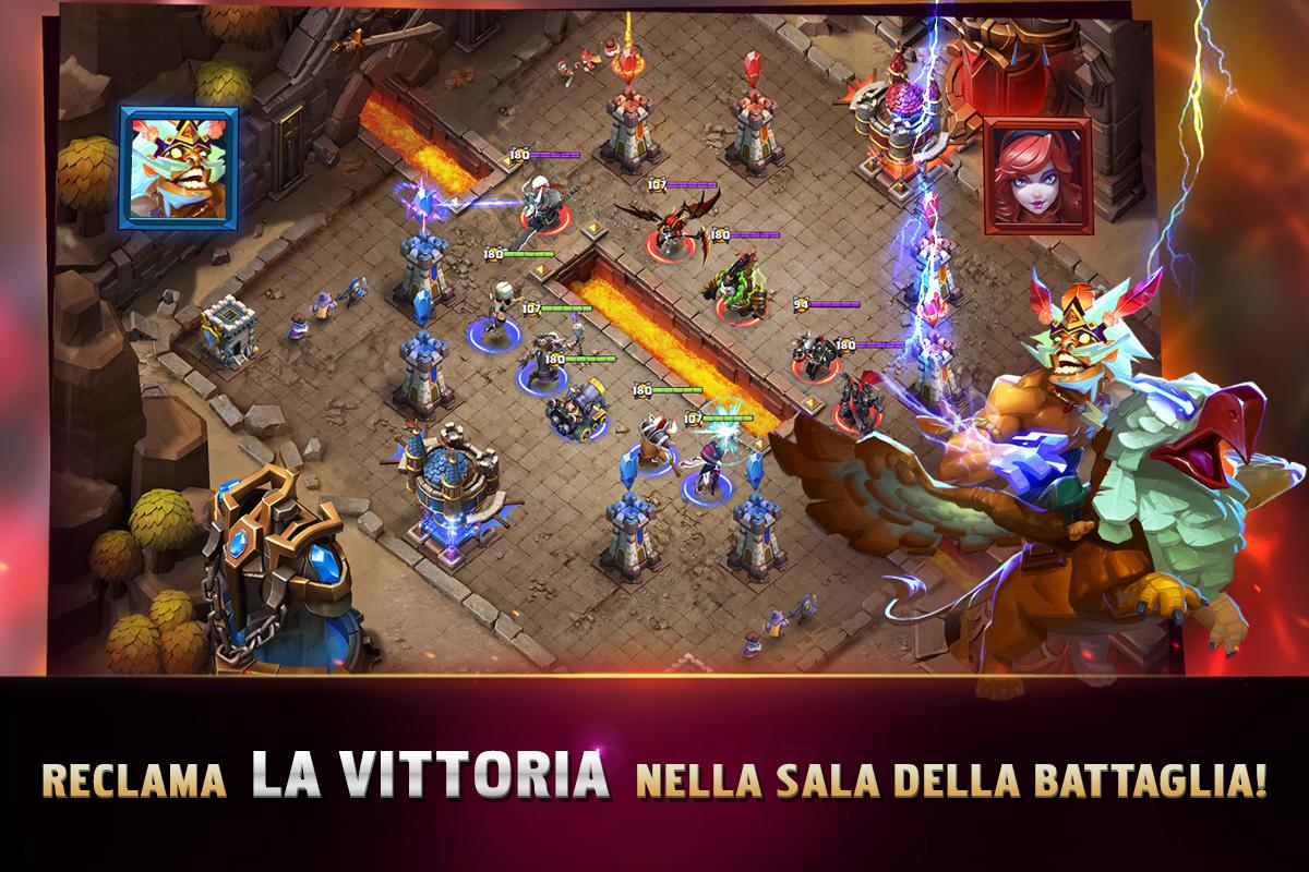 Clash of Lords 2: Italiano 1.0.163 Screen 5