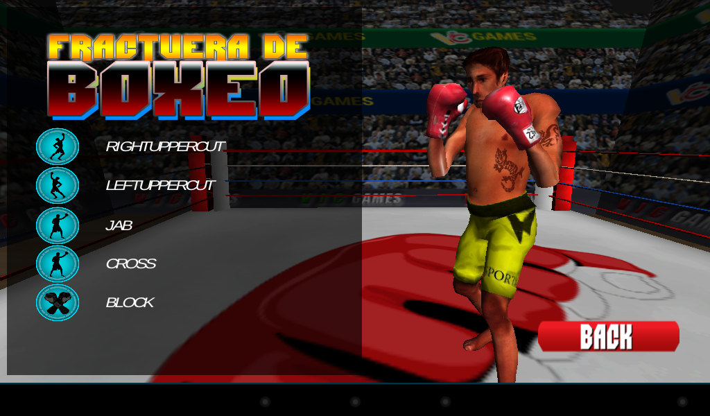 3D Boxing 2.3 Screen 1