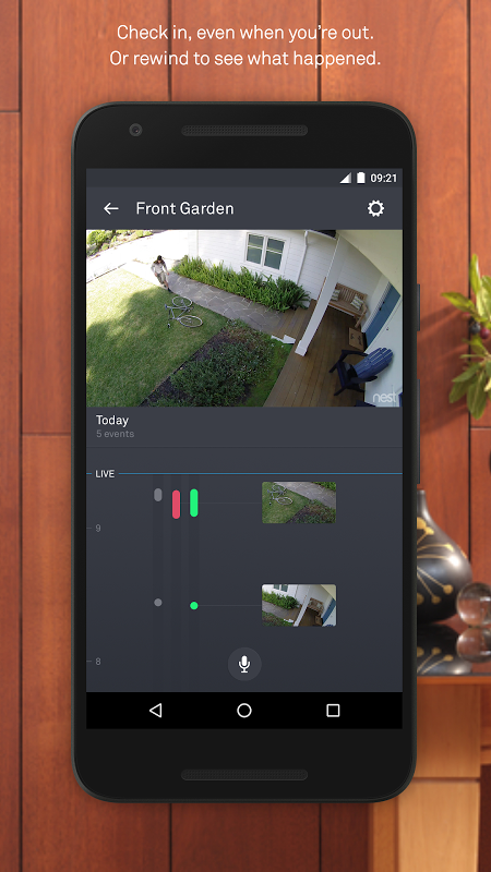 Nest 5.9.0.30 Screen 2