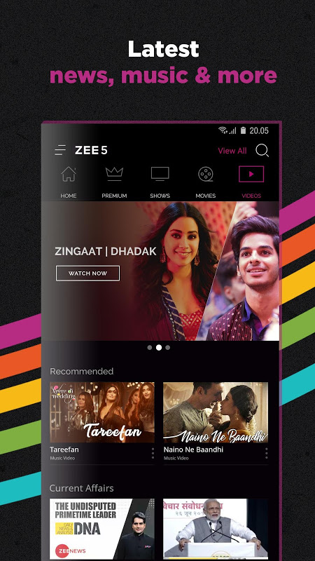 ZEE5 - Movies, TV Shows, LIVE TV & Originals 15.22.20 Screen 5