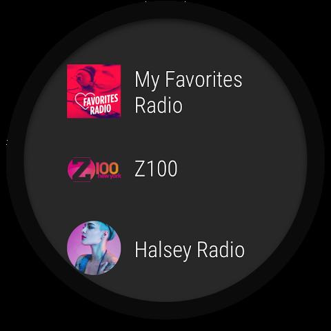 Android iHeartRadio Free Music & Radio Screen 1