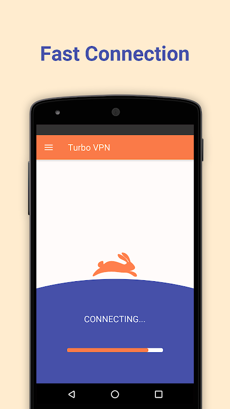 Android Turbo VPN - Unlimited Free VPN Screen 1