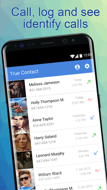 Android True Contact - Real Caller ID Screen 2