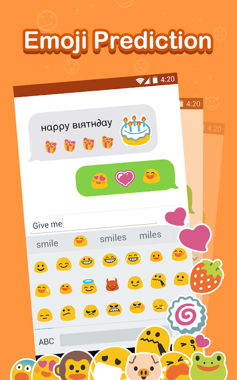 Emoji Keyboard 2018 | Cute Emojis, Stickers, Emoticons + More 2.2.1 Screen 4