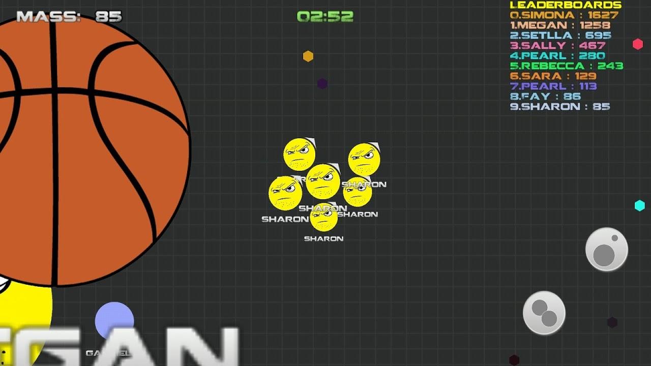 Android balls.io war like Agar.io Screen 1