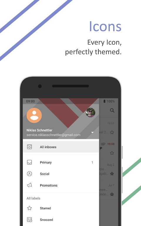 Android Outline for Substratum • Pie, Oreo, Nougat Screen 3