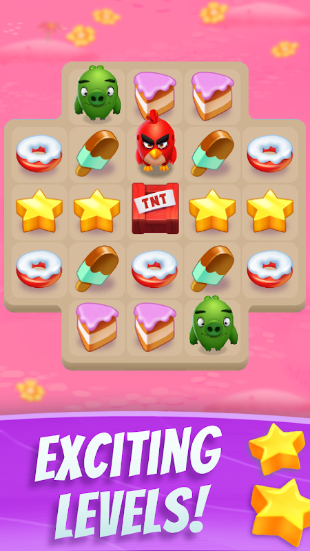 Android Angry Birds Match Screen 5