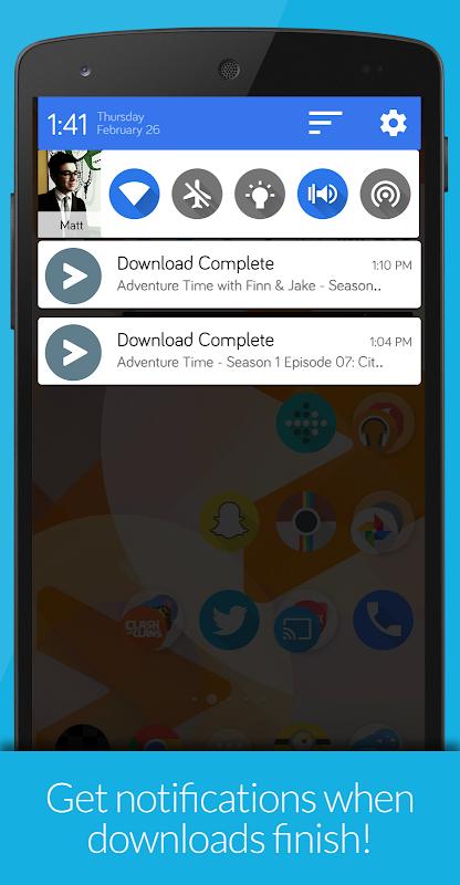 Videostream Chromecast: Mobile 1.18.02.27 Screen 3