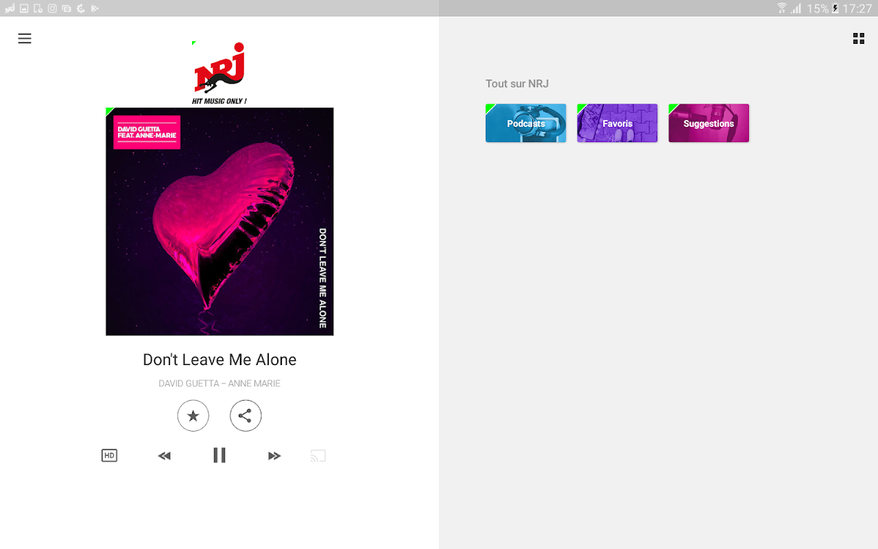 NRJ Radios 4.5.1 Screen 8