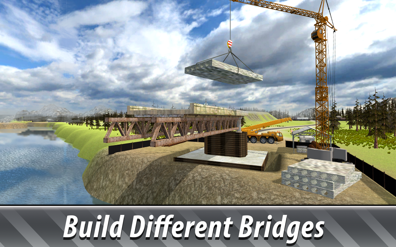 Bridge Construction Sim 2 1.04 Screen 3