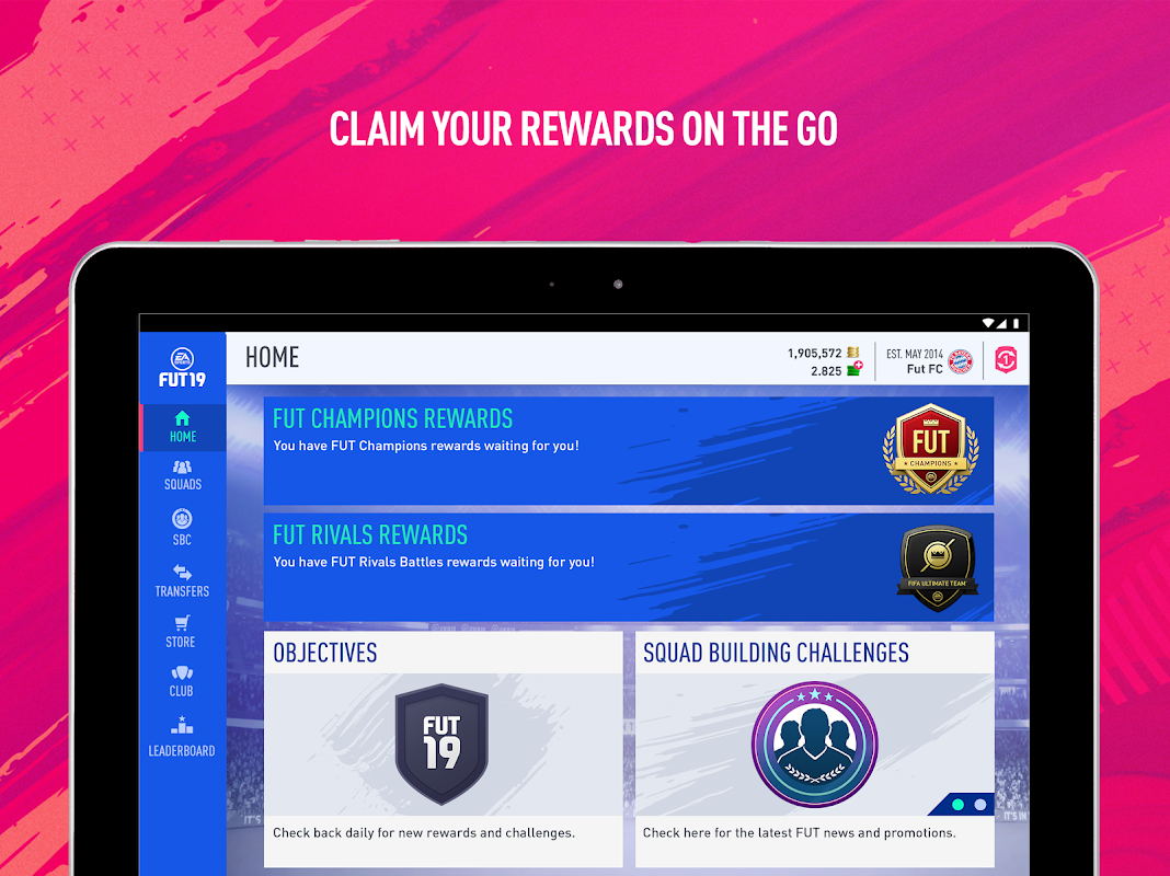 Android EA SPORTS™ FIFA 18 Companion Screen 11
