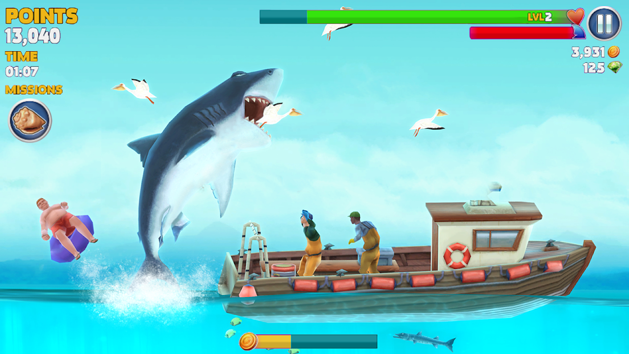 Android Hungry Shark Evolution (Mod) Screen 21