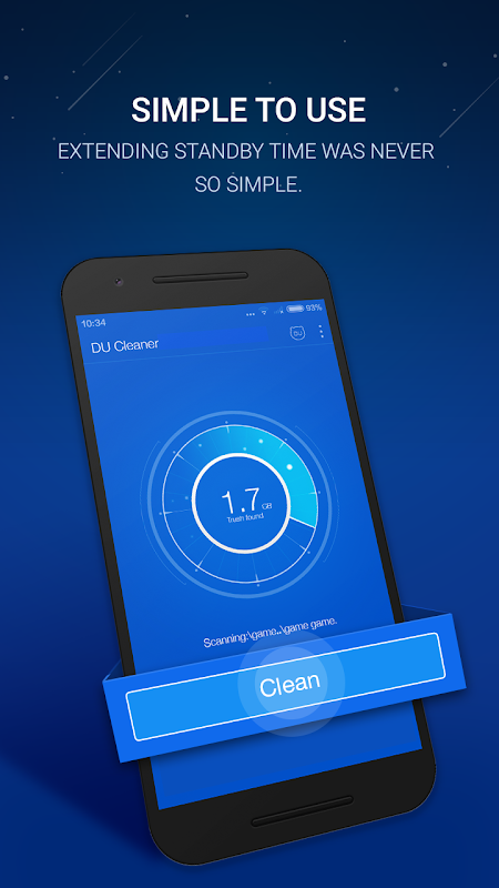 Android DU Cleaner & Clean Cache Screen 3