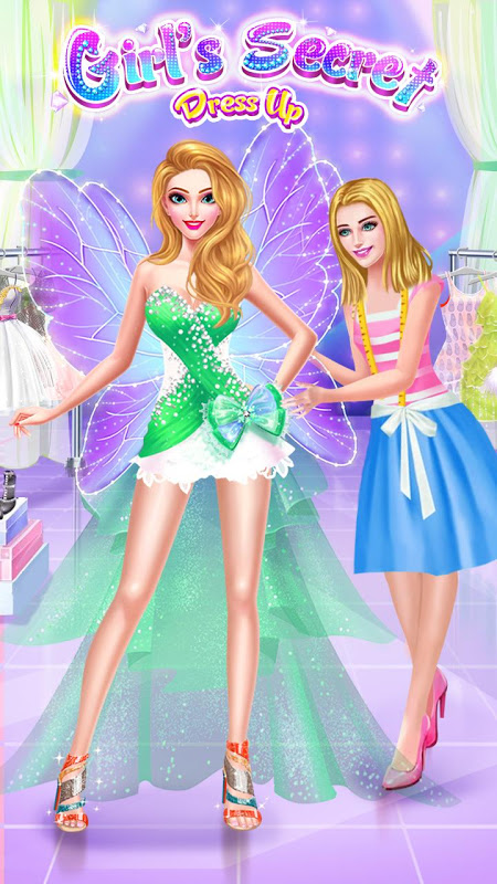Android Girl's Secret - Princess Salon Screen 1