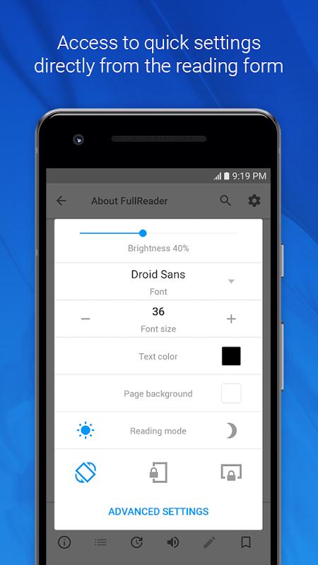 FullReader – e-book reader 4.0.4 Screen 6
