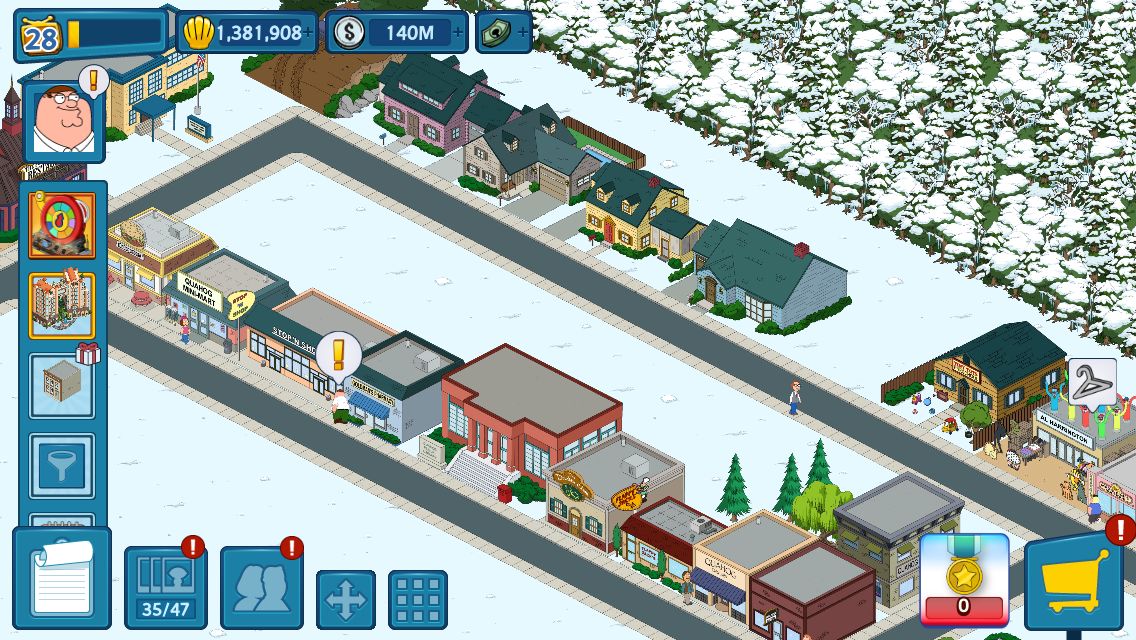 Android Family Guy The Quest for Stuff Screen 4