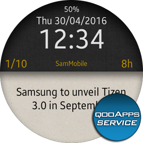 qooApps Tizen Service 1.7.1 Screen 5