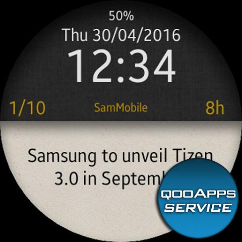 qooApps Tizen Service 1.7.1 Screen 5