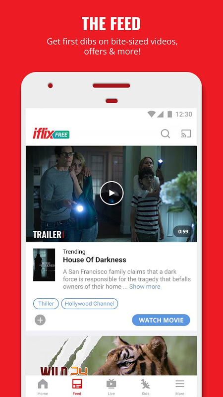 Android iflix Screen 8