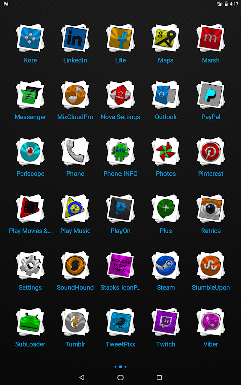 Android Stacks Icon Pack v4.2 Screen 10