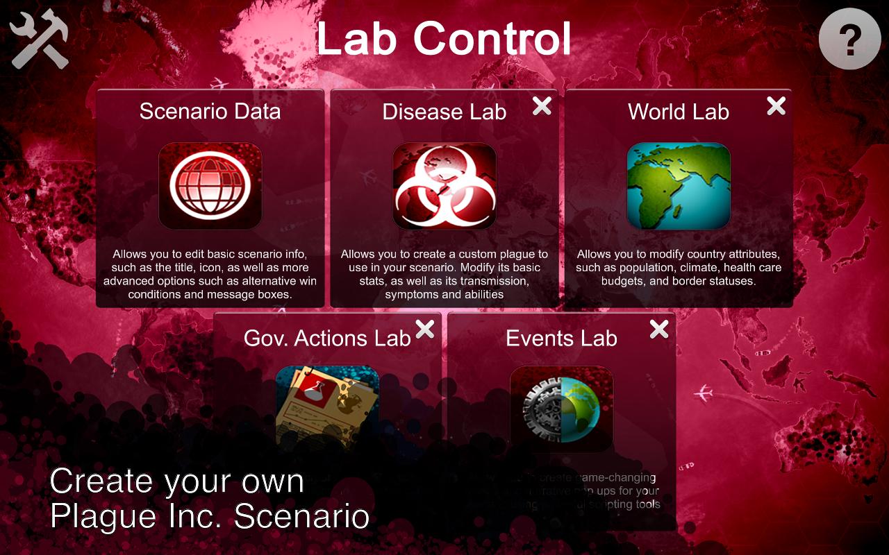 Plague Inc: Scenario Creator 1.1.8 Screen 1