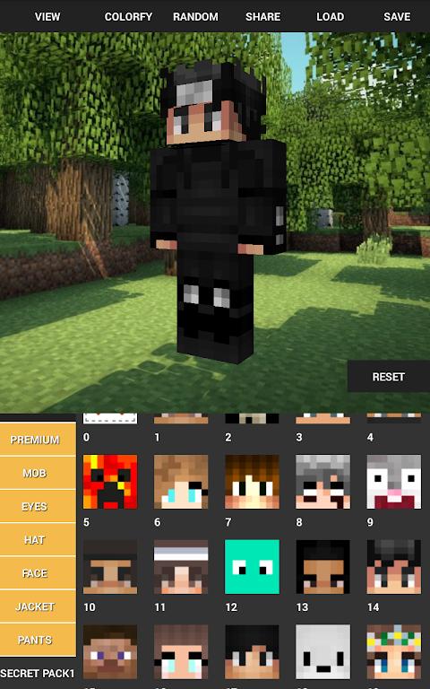 Custom Skin Creator For Minecraft 5.6 Screen 11
