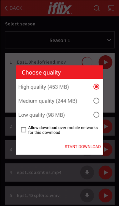 iflix 2.18.0-2982 Screen 12
