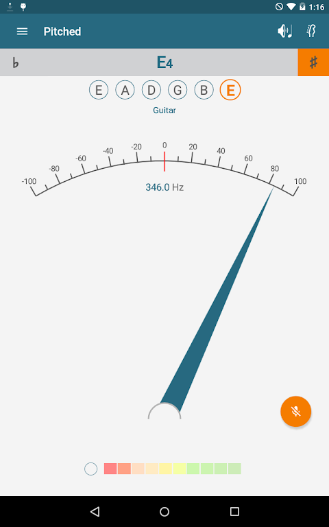 Pitched Tuner 2.4.1 Screen 7