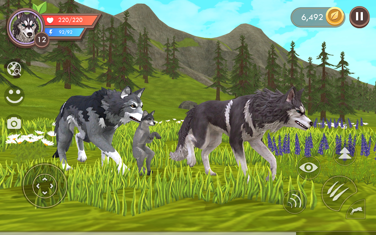 WildCraft: Animal Sim Online 3D 4.0 Screen 1