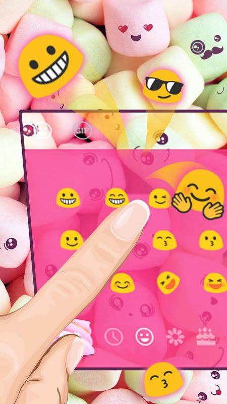 Android Marshmallow Keyboard Theme Screen 2