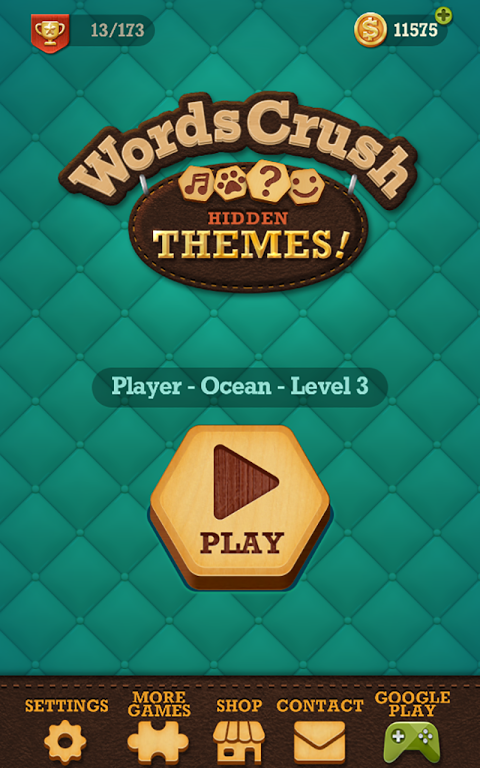 Android Words Crush: Hidden Themes! Screen 4