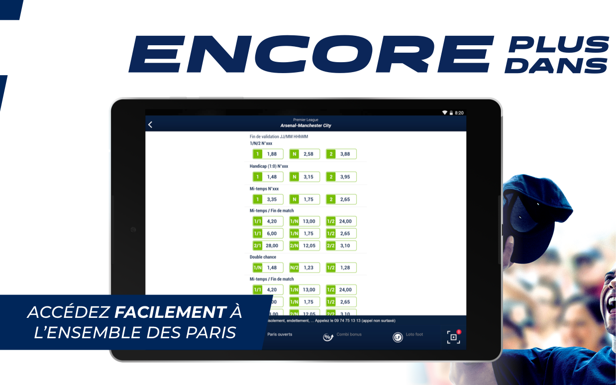 Android ParionsSport Point De Vente® Screen 6
