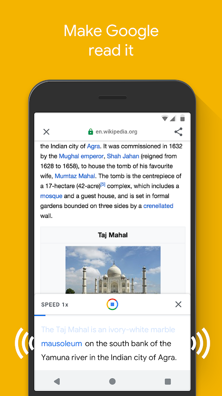 Google Go: A lighter, faster way to search 2.10.267576467.release Screen 6