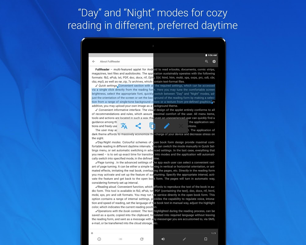 FullReader – e-book reader 4.0.4 Screen 15