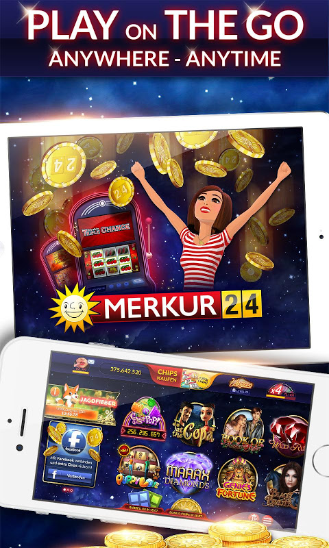 Android MERKUR24 – Online Casino & Slot Machines Screen 3
